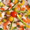 monique merzougui carpaccio de salade de printemp