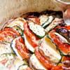 1tian de legumes au chevre