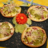 tartelettes legeres au chou fleur vert