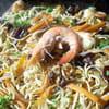 6 nouilles sautã©es aux crevettes isabelle bonneau 300