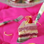 entremets girly framboise citron et croquant coco 300