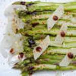 carpaccio d asperge balsamique et parmesan