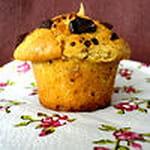 muffins beurre de cacahuetes pepites de chocolat