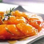 26 tatin d abricots au romarin abricots de nos regions
