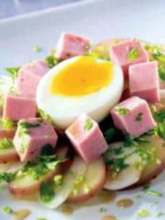 Salade cervelas pommes de terre