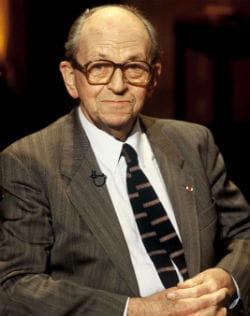 raymond aubrac dans l'emission 'ex-libris' sur tf1 le 01/10/1996.