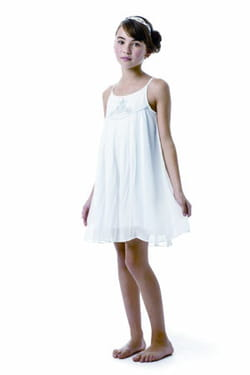 robe blanche catimini