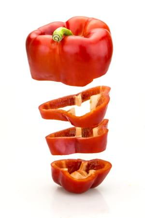 N°1 : le poivron rouge : Top 10 des aliments riches en