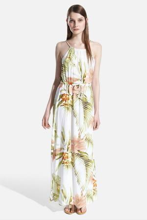 Robe tropicale de oysho 70 robes pour se mettre l for Robes pour mariage tropical