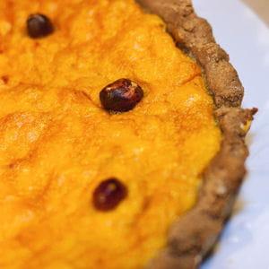 châtaignes et potiron pour une tarte de saison