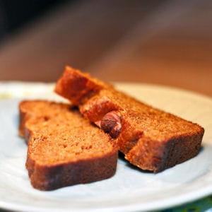 pain d'épices au potiron