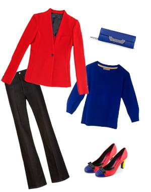veste de zara (59,95 euros), pull d'innamorato (370 euros), chaussures de mellow