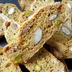 croquants aux amandes et pistaches