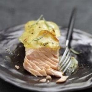 n°11 : le pavé de saumon grillé.