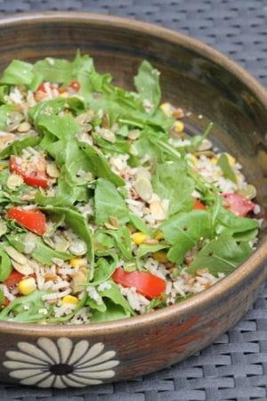 salade de riz quinoa et peautre les recettes minceur de l 39 automne journal des femmes. Black Bedroom Furniture Sets. Home Design Ideas