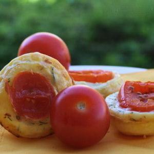 mini tartes au thon