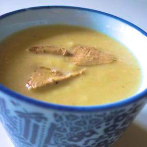 soupe de céleri au foie gras