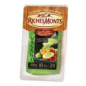 fromage pour raclettes goût wasabi de richesmonts
