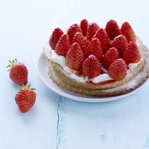 n°12 : tartelettes fines aux fraises, mascarpone vanille