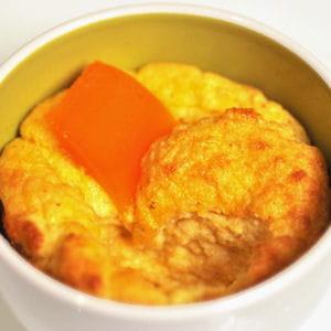 soufflé à la mimolette