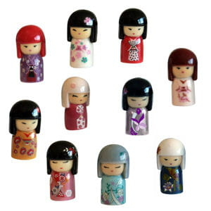 collection de fèves kimmidoll