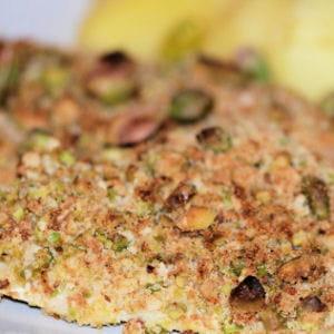 filets de cabillaud panés aux pistaches