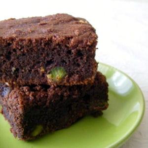 brownies à ma façon aux pistaches