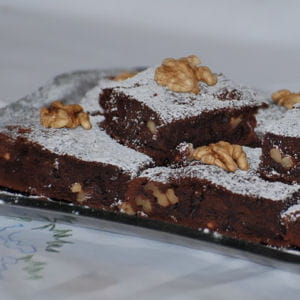 brownies choco-marron-noix