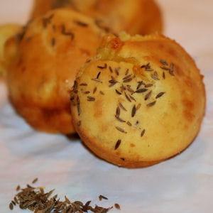 muffins au munster et cumin