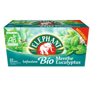 infusion menthe-eucalyptus bio