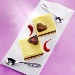 duo de carrés passionnément chocolat