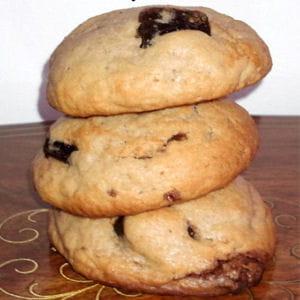 cookies chocolat et framboises