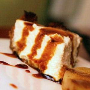 cheesecake à l'ananas et au gingembre