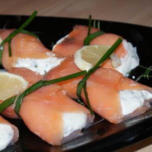 saumon fumé au crottin de chavignol