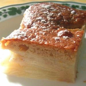 dessert fondant poires-marrons