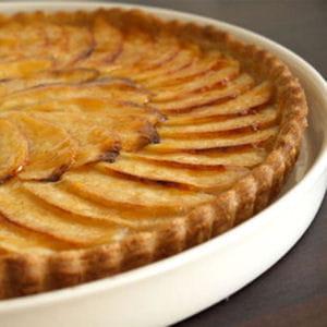 tarte aux pommes sur compote