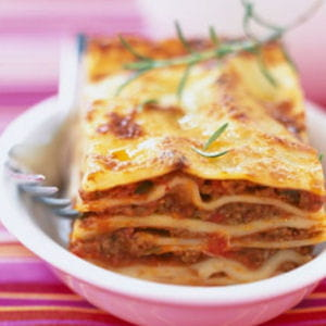 lasagne bolognaise 