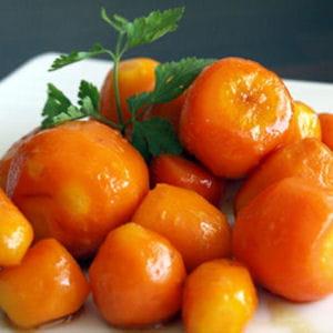 carottes grelots au miel