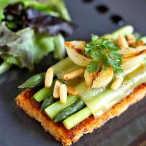 Sabl au comt et asperges vertes 40 recettes de muffins - Cuisiner les asperges vertes ...