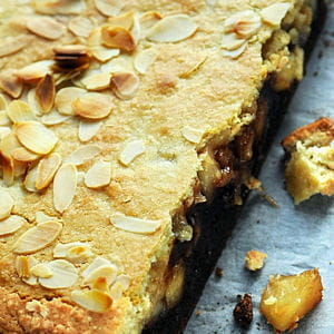 brookie amandes pommes antarès et chocolat