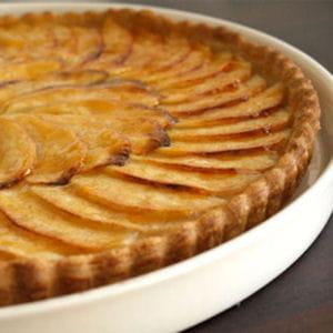 tarte aux pommes sans oeufs 25 recettes de desserts sans oeuf journal des femmes. Black Bedroom Furniture Sets. Home Design Ideas
