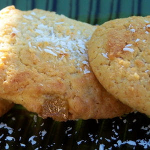 cookies ananas rhum coco