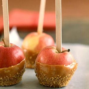 pommes d'amour au caramel au beurre salé