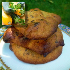 cookies courgettes chocolat