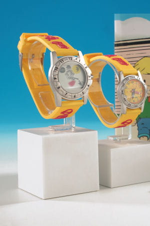 une montre intuitive pour apprendre à lire l'heure.