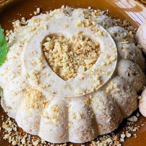 dessert glacé aux macarons