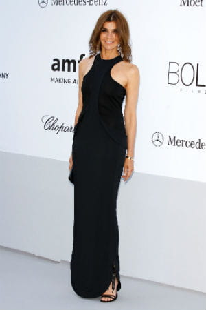 carine roitfeld au gala de l'amfar le 24 mai 2012  l'htel du cap eden roc 