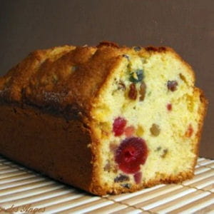 cake anglais aux fruits confits