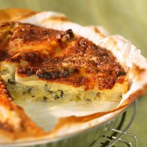 tarte potagère au comté
