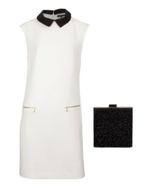 robe de caroll et sac de zara 